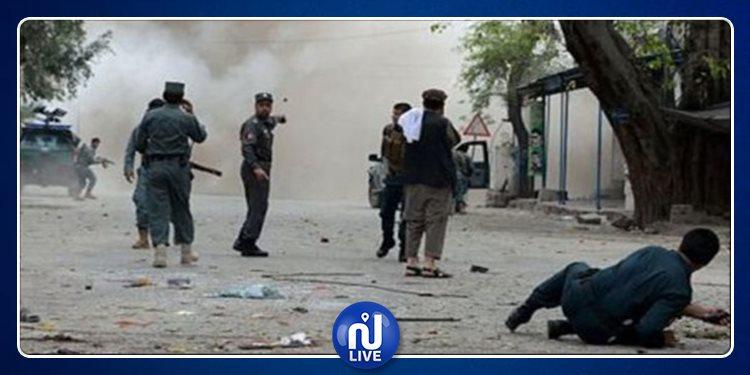 ''طالبان'' تضرم النار في مقر الشرطة وتقتل 11 ضابطا