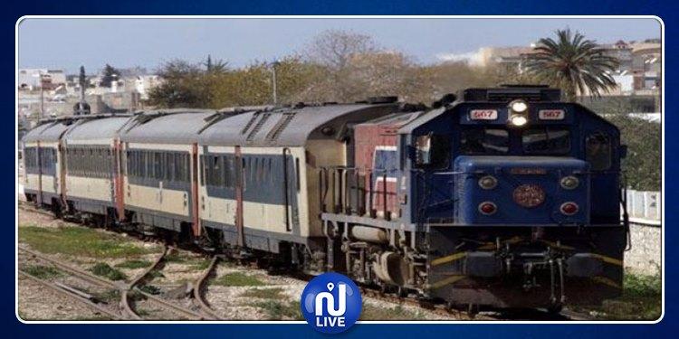 سليانة: خروج عربة قطار عن السكة دون خسائر