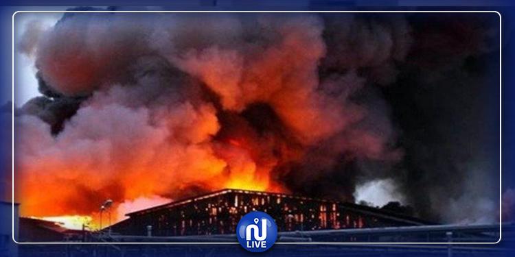 انفجار هائل بمصنع كيمياء بولاية تكساس (فيديو)