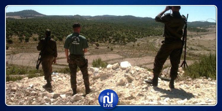 القصرين: إيقاف 12 سوريا  بصدد اجتياز الحدود البرية خلسة