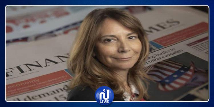 اللبنانية رولا خلف أول سيدة تتولى رئاسة تحرير صحيفة 'فايننشال تايمز'
