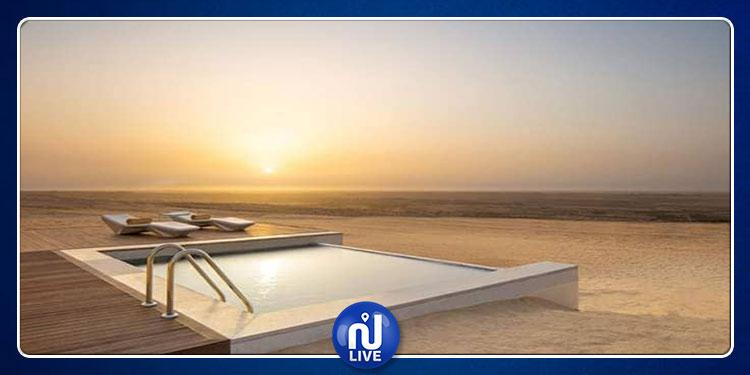 توزر:قريبا افتتاح اكبر منتجع سياحي صحرواي (صور)