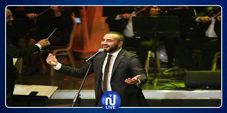 الشرنوبي لجمهور الأوبرا المصرية .. فخور بالممر لإنه كتب اسمي في التاريخ