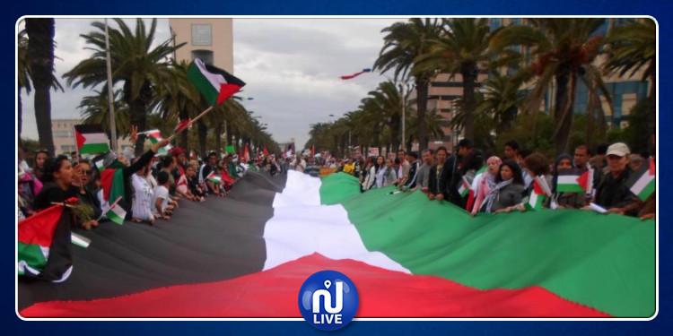 تونس تدعو المجتمع الدولي إلى وقف الإعتداءات السافرة على الفلسطينيين