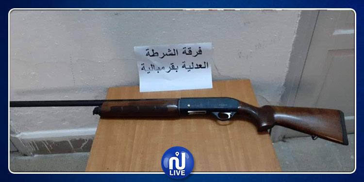 نابل : حجز سلاح ناري في محل مطالة ودهن