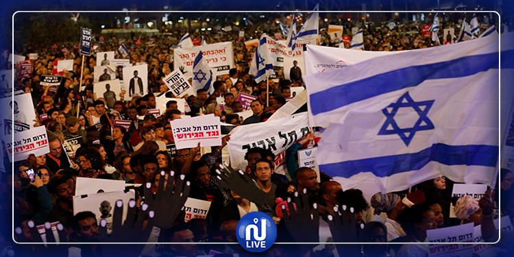 احتجاجات في تل أبيب لمطالبة نتنياهو بالإستقالة