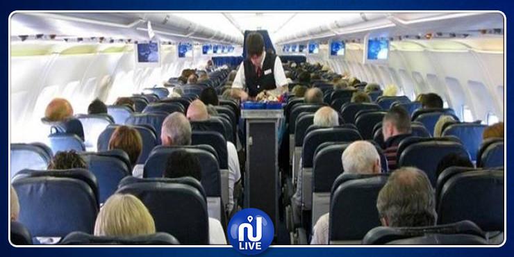 مخمور يتسبب في حالة من الهلع وسط طائرة (صور)