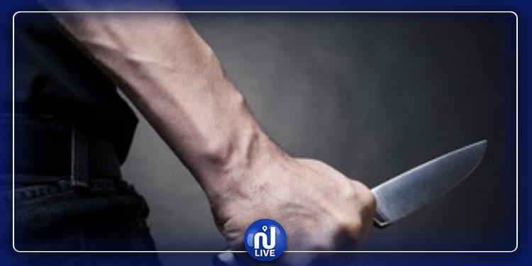 الكبارية: منحرف يطعن شخصا  بسكين  ويسلبه أمواله