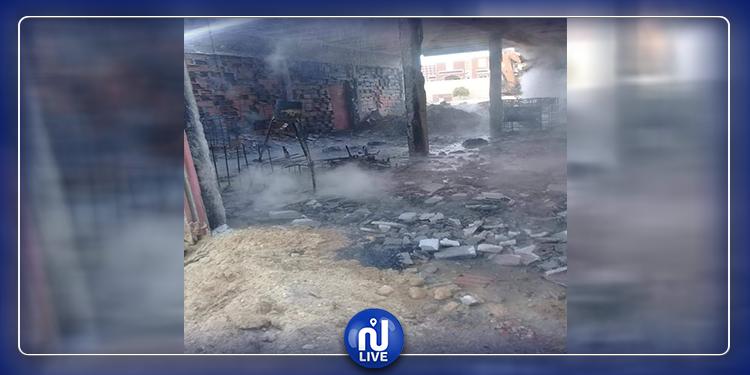 قبلي: اندلاع حريق هائل في محل لبيع البنزين