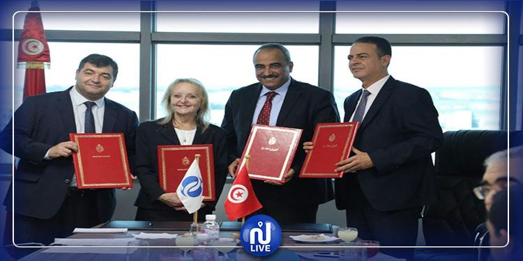 تمويل مشروع تجديد أسطول عربات خط  تونس المرسى