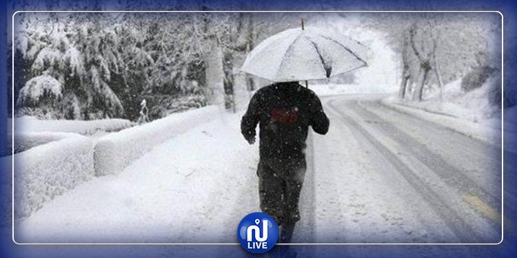تواصل التقلبات الجوية وتساقط الثلوج بهذه المناطق