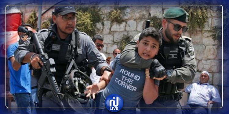 Les enfants palestiniens en proie à la détention et aux abus