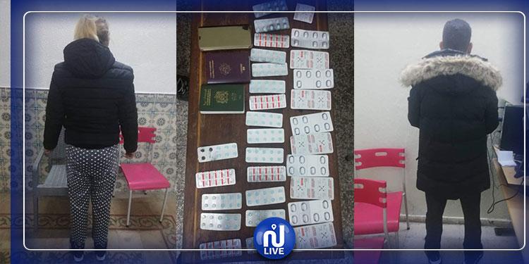 سليمان: إيقاف أجنبي و صديقته التونسية من أجل بيع المخدرات والزواج  على غير الطرق القانونية