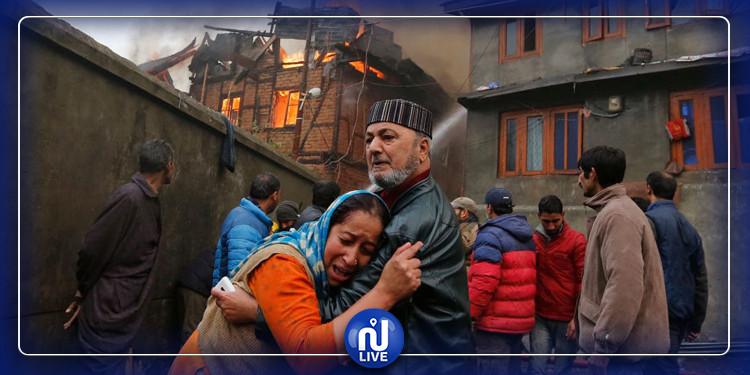 وفاة 35 شخصا في حريق بمصنع هندي