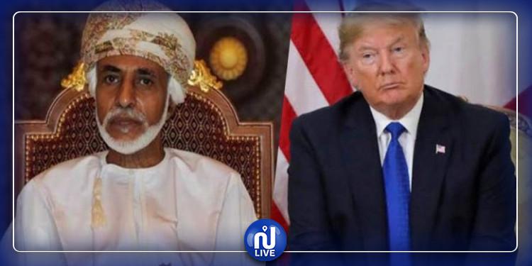 دونالد ترامب : سلطان عمان عاصر 9 رؤساء أمريكيين