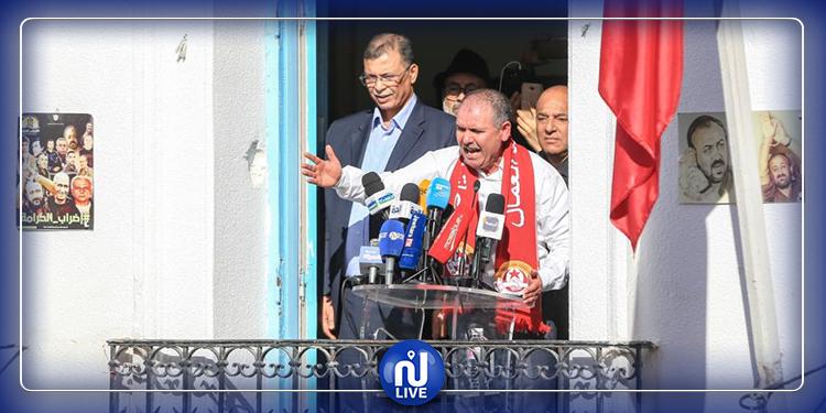 الطبوبي: ندين  التدخلات الأجنبية في الشأن الليبي
