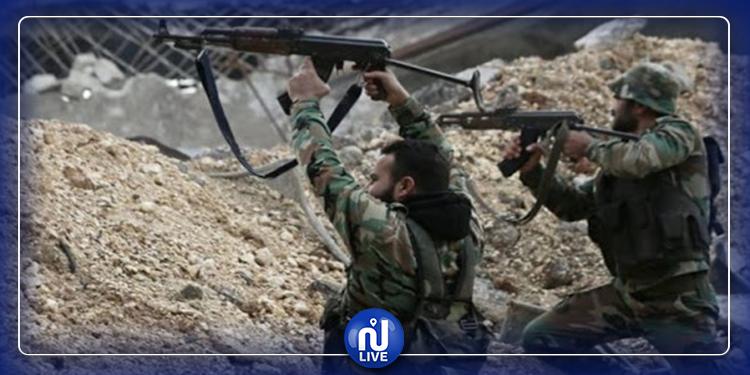 مقتل 211 عسكريا سوريا خلال اشتباكات مسلحة