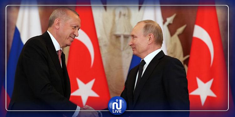 لتباحث الوضع في سوريا وليبيا: بوتين يلتقي أردوغان غدا
