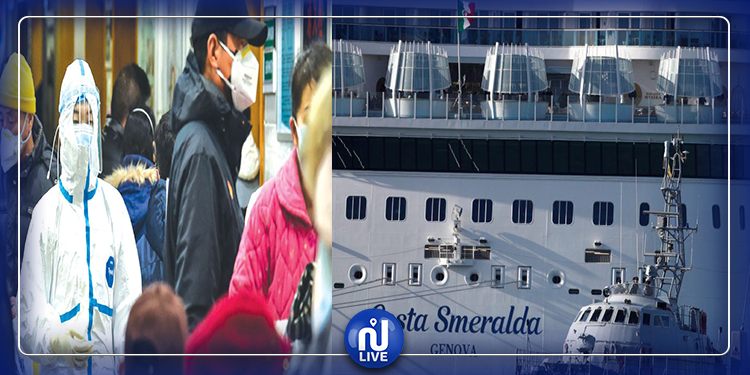 إيطاليا: 7 آلاف شخص عالقون في سفينة للاشتباه بوجود إصابات بكورونا