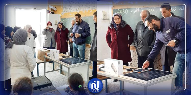 تطاوين : تفعيل برنامج التربية الرقمية بالمدرسة الإبتدائية بنكريف الحدودية