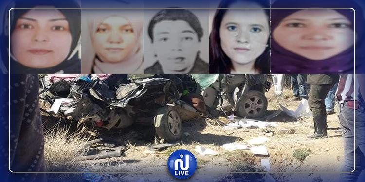 القصرين: توقف الدروس اليوم وغدا حدادا على وفاة 5 معلمات