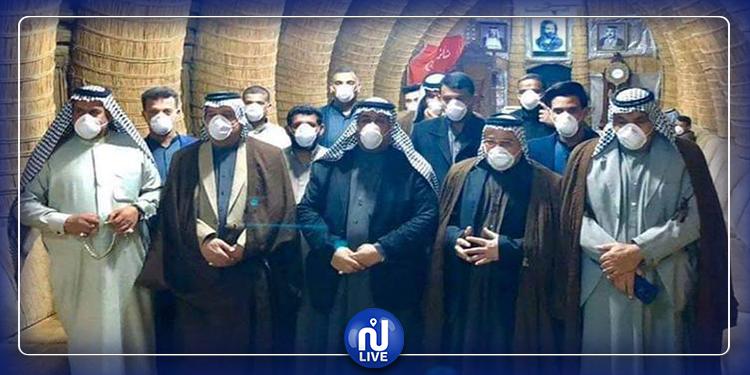 توقيا من كورونا: عشيرة عراقية تمنع التقبيل