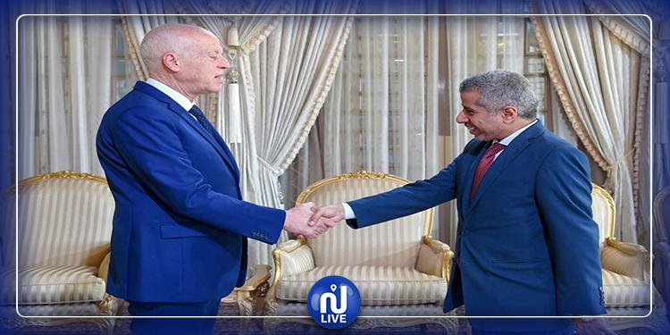 فحوى لقاء رئيس الجمهورية بالأمين العام لمجلس وزراء الداخلية