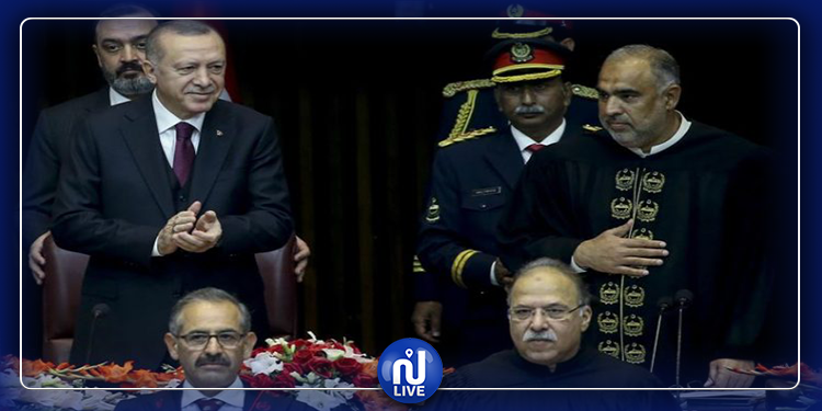 أردوغان يعارض إدراج باكستان ضمن قائمة الارهاب