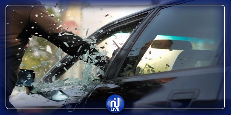الكاف: إيقاف شخص من أجل السرقة من داخل سيارة