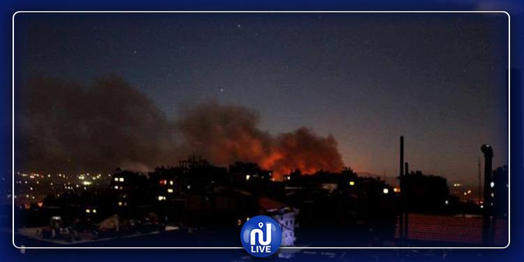 رويترز: قصف مكثف على العاصمة الليبية