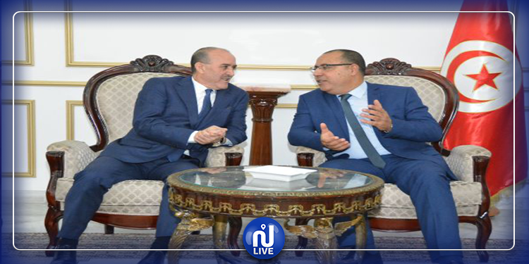 وزير الداخلية يستقبل نظيره الجزائري