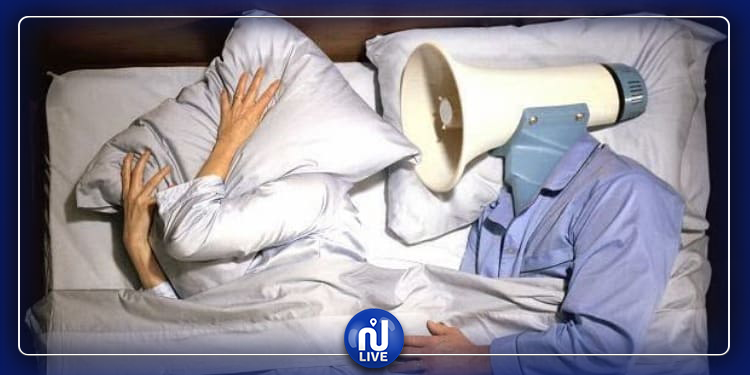 النوم بجانب شخص يعاني الشخير يؤدي إلى الإصابة بالنوبات القلبية !