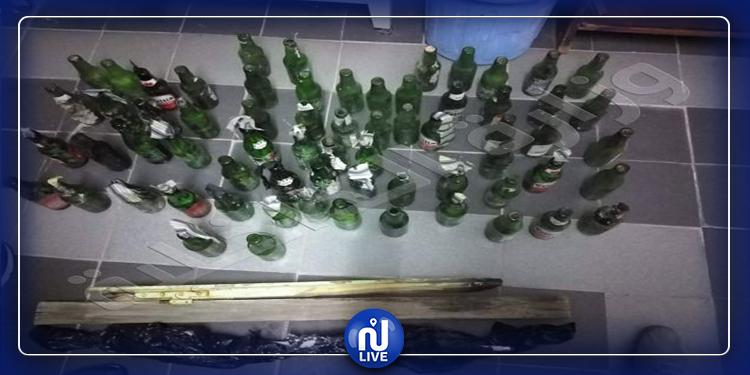 إستعدادا لمعركة: محبو أحد الأندية يجهزون 60 زجاجة مولوتوف