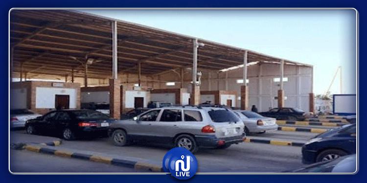 Dhéhiba : Retour de 15 Tunisiens bloqués à la frontière avec la Libye