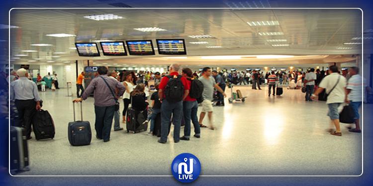 إجلاء الرعايا التونسيين والفرنسيين من و إلى المطارات التونسية