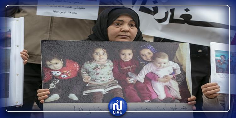 104 طفلا تونسيا عالقون في سوريا