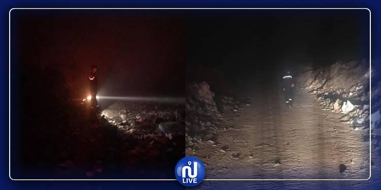 سيدي بوزيد: اندلاع حريق في مصب للنفايات المنزلية(صور)