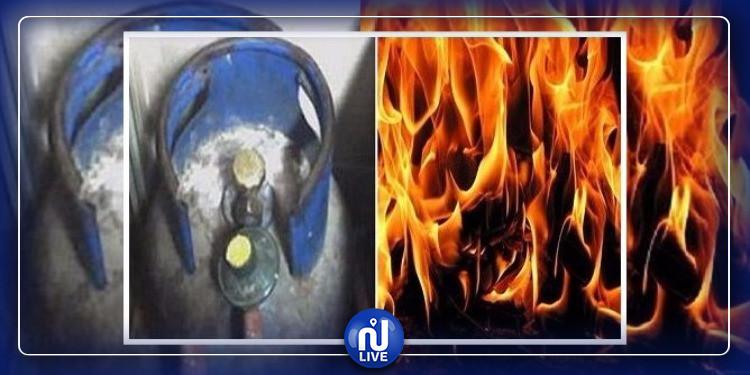سيدي بوزيد: انفجار قارورة غاز يودي بحياة إمراة