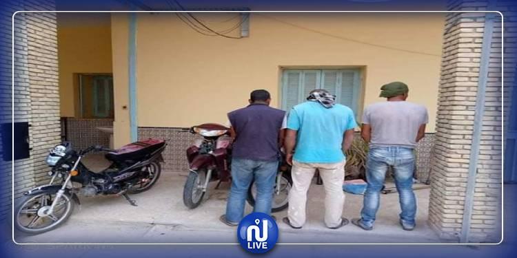 توزر: القبض على عصابة مختصة في سرقة فسائل النخيل و معدات فلاحية