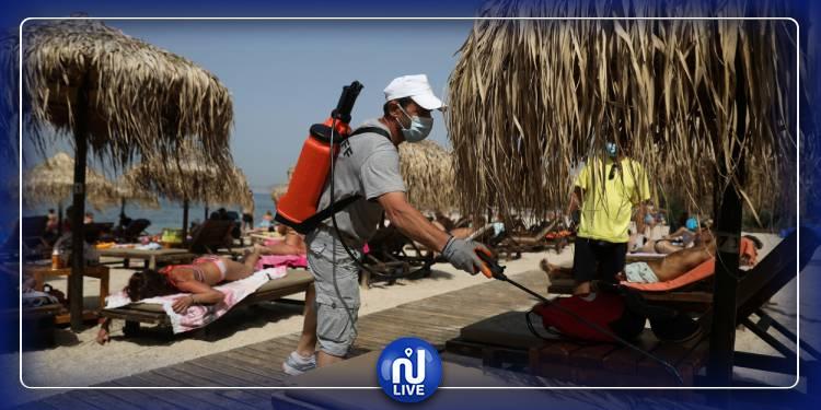 En Grèce, premier week-end sur les plages privées