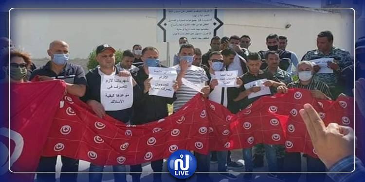 تحركات احتجاجية للنقابات الاساسية بجميع الوحدات السجنية