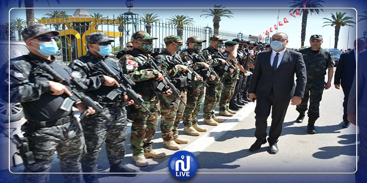 وزير الداخلية يؤدي زيارة إلى بنزرت