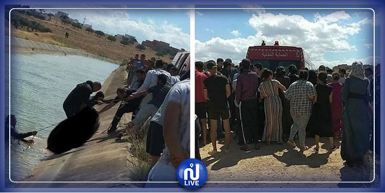 وزيرة المرأة تقدم التعازي إلى عائلات الأطفال الذين غرقوا بوادي مجردة