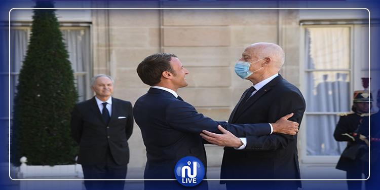 رئاسة الجمهورية توضح بخصوص عدم التزام سعيّد بالحجر بعد زيارته  إلى فرنسا