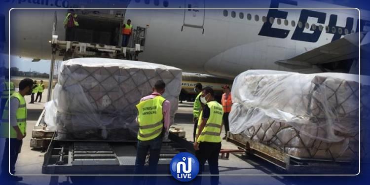وصول تجهيزات طبية اقتنتها اليونيسف إلى تونس