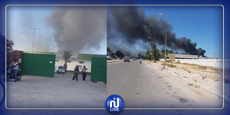 المنستير : السيطرة على حريق مصنع المراكب الترفيهية