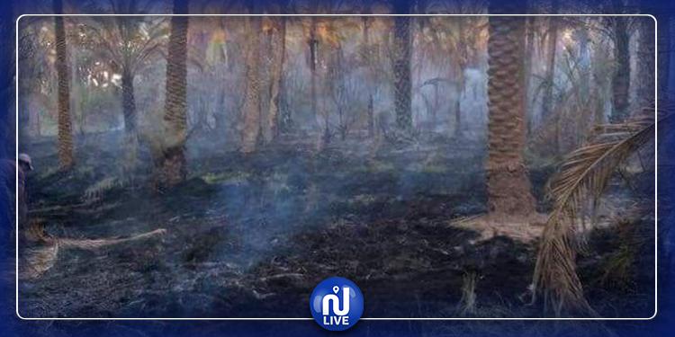 اجلاء 3 آلاف عراقي من منازلهم بعد نشوب حريق هائل