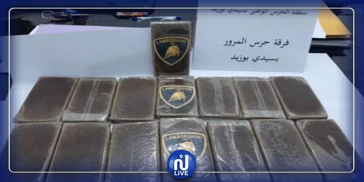 سيدي بوزيد: حجز كمية من المخدرات