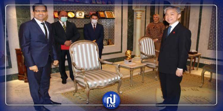 انتهاء مهام سفير الصين بتونس