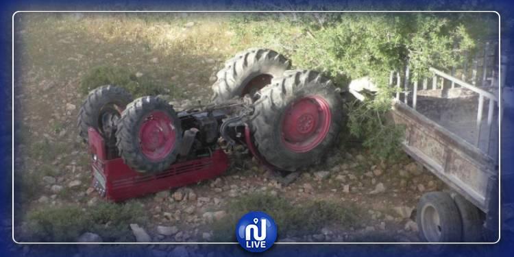 جندوبة: وفاة شاب واصابة شقيقه في انقلاب جرار فلاحي